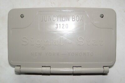 Signal-Stat 3120 7-post Wiring Junction Box Truck Lighting Stop and Turn Signals