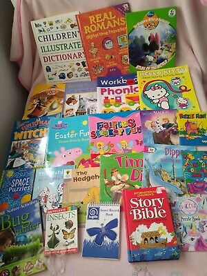 Children's BOOKS Bundle, Usborne, Phonics, Early Readers, activity books!