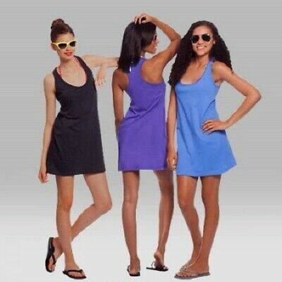 Womens Sleepy Racerback Cover Up Sleep Shirt Nightgown, Multiple Sizes/Colors