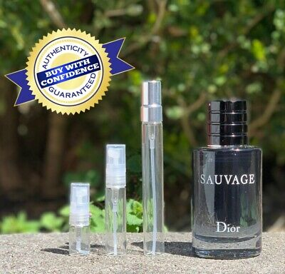Dior Sauvage EDT Sample, 3ml,5ml and 10ml (100% Authentic!!!)
