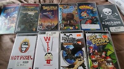 Sony Playstation Portal PSP Game Lot CIB With Instructions