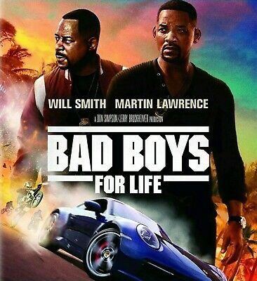 Bad Boys for Life (2020) Movie Blu Ray Disc ONLY No Case or Cover Art NEW