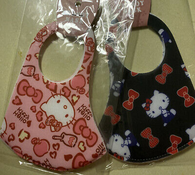 """""""Adult/Teens"""" ~Hello Kitty~ FACE MASK - WASHABLE (2 Masks) Black And Pink"""