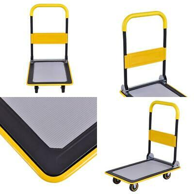 330 Lbs Folding Platform Cart Dolly Hand Truck