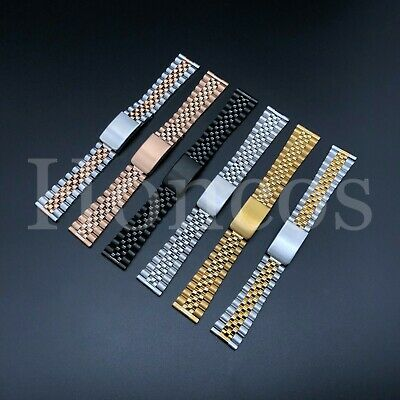 20MM Steel Bracelet Watch Band Strap Replacement Jubilee Vintage For Citizen USA