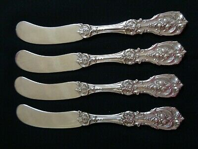 4 Om Pat D June25/07 Reed&Barton Francis I Sterling Silver Butter Knife Flatware