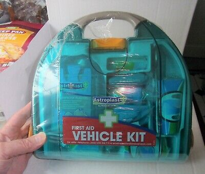 Travel Vehicle Medical First Aid Kit Box With FULL contents & factory sealed