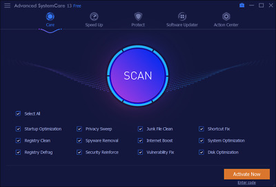 Latest : iObit Advanced SystemCare Pro 13 , 5 PC , 1 Yr License for Windows