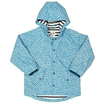 Kite Girls Blue Splash Raincoat Brand new with tags, Age 18-24 months