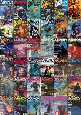 ASIMOV'S SCIENCE FICTION Pulp Magazine 400 Rare Vintage Magazines