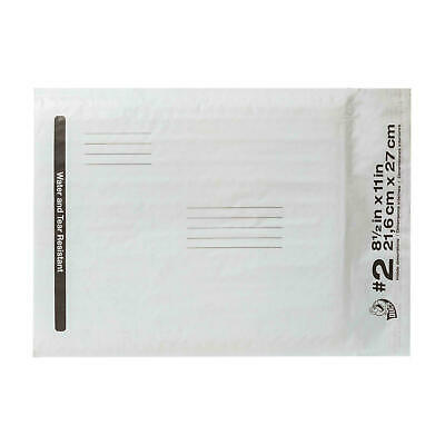 LOT OF 10  DUCK POLY BUBBLE MAILERS - 8.5x11 - Self-Seal Water Resist Envelopes