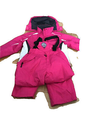 Girls Ski Jacket And Trousers Size 13-14 (more Like 11-12) Parallel