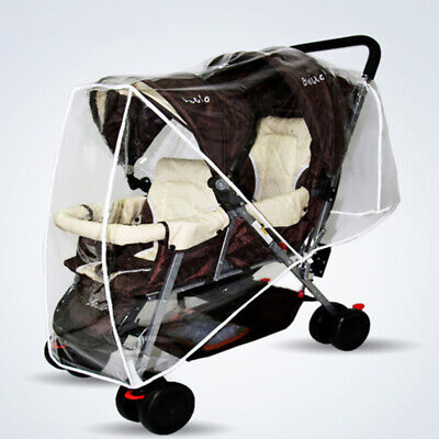 1 PCS Universal Toddler Pram Double Stroller Rain Insect Weather Cover Protector