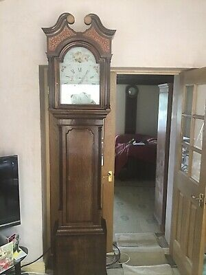 longcase grandfather clock By Jn Blaylock Of Long Town