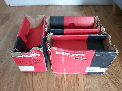 3 BOXES Hilti GX 120 nails - 20mm