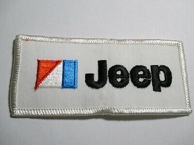 Jeep Old PATCH, Vintage NOS Scarce,70's RARE IMPOSSIBLE TO FIND 4 1/2 X 2 INCHES