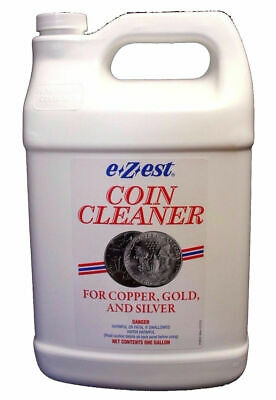 E-Z Est Jeweluster Coin Cleaner Silver Gold Jewelry Clean 1 GALLON (NEW)