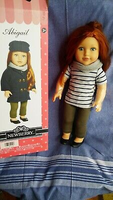 Newberry Doll Abigail 18 inch doll toy Fashion dolls for girls New