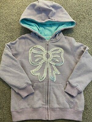 TU Girls Purple Hoodie. Age 3 Years. Immaculare Condition
