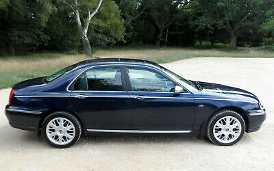 2002 Rover 75 2.5 v6 CONNOISSEUR SE ONLY 70,800 miles + CAM BELTS done last year
