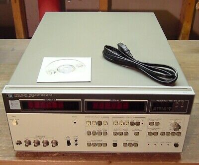 HP Agilent 4274A Multi-Frequency LCR Meter 100 Hz-100 kHz Tested OPT 003 101