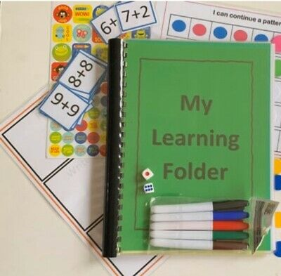 home schooling, Home learning Folder, 3-7, Math, Literacy, Children's Activities