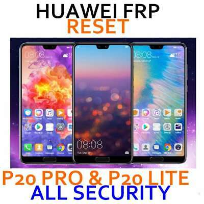 Huawei p20lite p20 pro frp google account removal ALL SECURITY 100%
