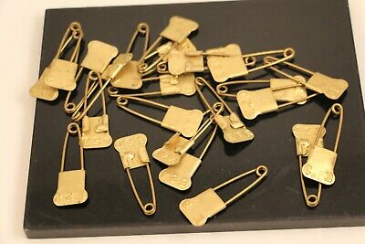 Lot of Vintage Locker Basket Safety Pins