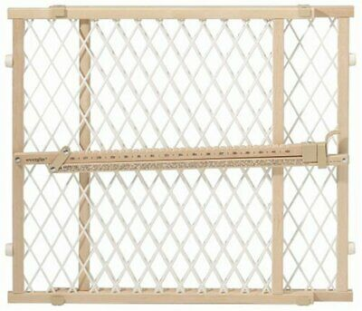 Evenflo Position and Lock Tall Pressure Mount Wood Gate 26 - 42 inches