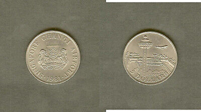 Singapore 5 Dollar Changi Airport Comm. 1981