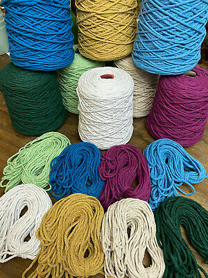 3mm Macrame cord $45 per roll. Buy A Sample $7. Free Postage!!