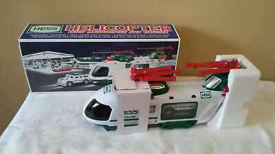 2001 HESS Helicopter With Motorcycle And Cruiser in Box with Original Packaging