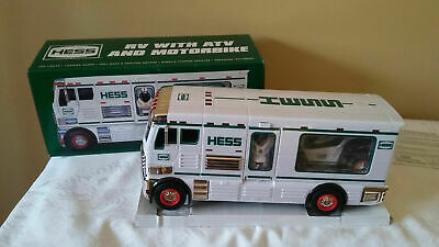 2018 HESS RV with ATV and Motorbike in Box with Original Packaging