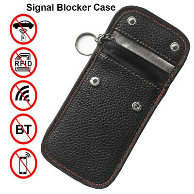 Signal Blocker Case Faraday Blocking Shield Case Protector Pouch For Car Key dp