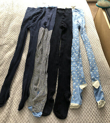 4 Pairs Of Tights. Age 12-13 Years