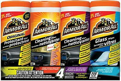 Armor All 10881 4-Pack Wipe Multipack, Total 115 wipes