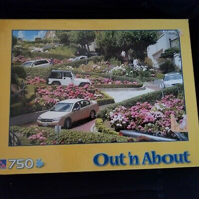 Out 'n about Lombard St Puzzle