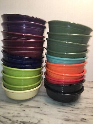HLC Fiestaware Multi Mixed Colors Small Bowl Fiesta 14oz Cereal Bowls Choose 1