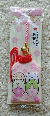 San-X Sumikko Gurashi Amulet Phone Charm すみっコぐらし Japanese Kawaii Character