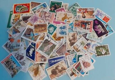 500 (At Least) Off-Paper Great Britain And Commonwealth Stamps