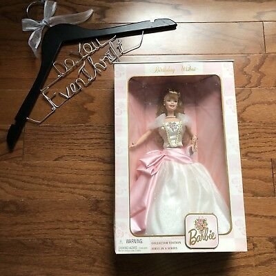 NEW 1998 BIRTHDAY WISHES BARBIE DOLL-Collector Edition-1st in Series-21126