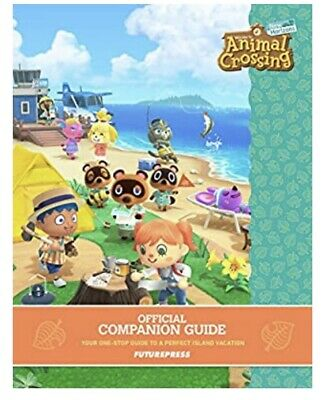 Animal Crossing: New Horizons Official Companion Guide Book New PRE ORDER