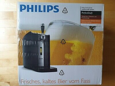 PHILIPS Perfect Draft 2.0 HD3720/26 Bierzapfanlage Quick-Cooling-System * Neu *