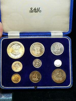 1960 Proof Set South Africa Original Box Nice Attractive Coins