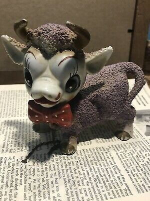 Vintage Purple Cow Japan With Horns