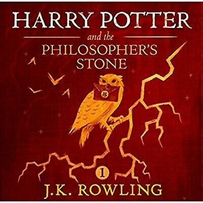 Harry Potter and the Philosopher's Stone Audio Book 1Mp3 CD Audiobook JK Rowlin
