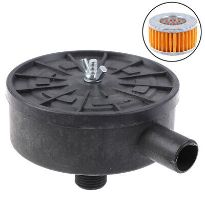 Air Filter Silencer Air Compressor 20mm Male Thread Canister Filter Silence 9K
