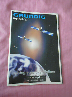 Grundig Sky digibox Instruction Manual: 2000: