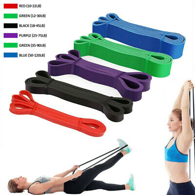 TTCZ Fitness Pull Up Resistance Bands - Mobility Stretch Powerlifting