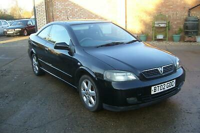 2002 Vauxhall Astra 2.2 Bertone Edition SE2 Coupe *Same Lady Owner for 14 Years*